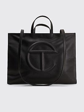 Telfar Large Shopping Bag Black