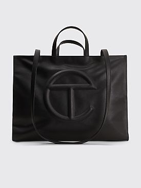 Telfar Large Shopping Bag Black