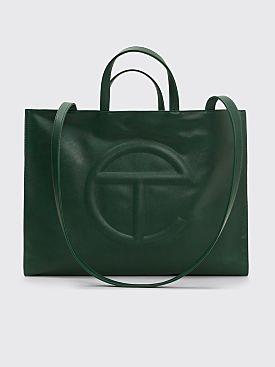 Telfar Large Shopping Bag Dark Olive