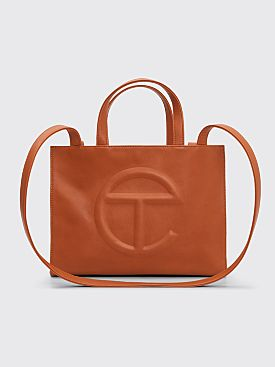 Telfar Medium Shopping Bag Tan
