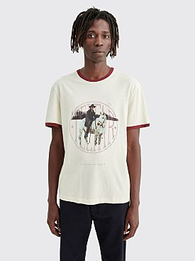 Telfar Cowboy Ringer T-shirt White