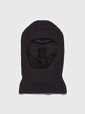 Telfar T-Logo Ski Mask Off Black