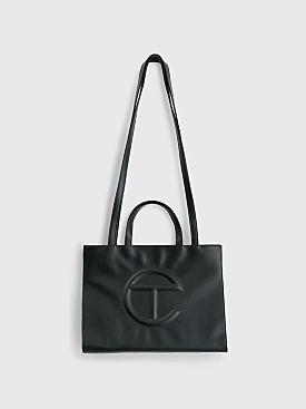 Telfar Medium Shopping Bag Black