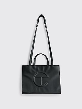 Telfar Medium Shopping Bag Black