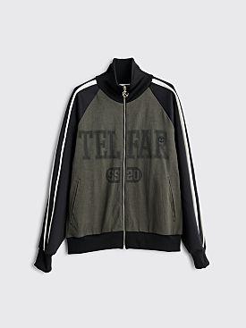 Telfar Raglan Track Jacket Black