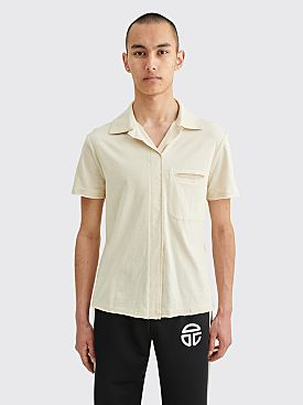 Telfar Split Dress Shirt Bone