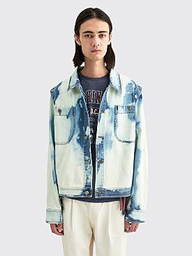 Telfar Detachable Denim Jacket Bleach