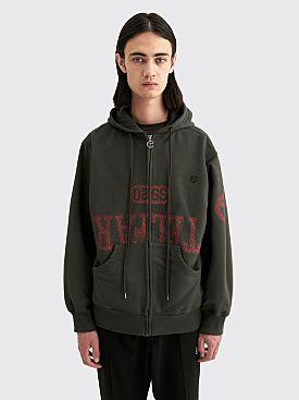 Telfar Drop Out Hooded Sweatshirt Washed Black