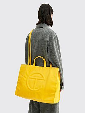 Telfar Large Shopping Bag Yellow
