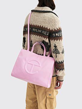 Telfar Medium Shopping Bag Bubblegum
