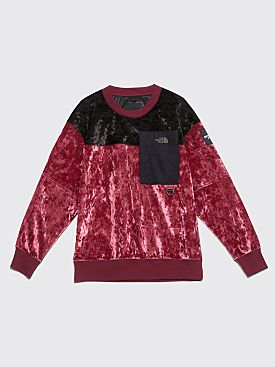 The North Face Black Series Velvet Pullover Crew Regal Red