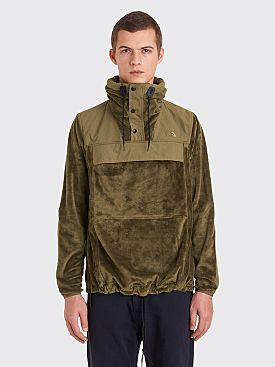 The North Face Black Series Pullover Anorak Sweater Olive
