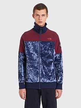 The North Face Black Series Velvet Track Jacket Cosmic Blue