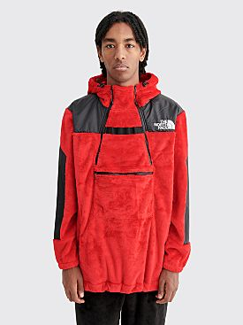 The North Face Black Series Kazuki Steep Tech Hooded Fleece Jacket Red