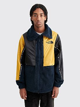The North Face Black Series Kazuki Rage High Neck Fleece Jacket Urban Navy