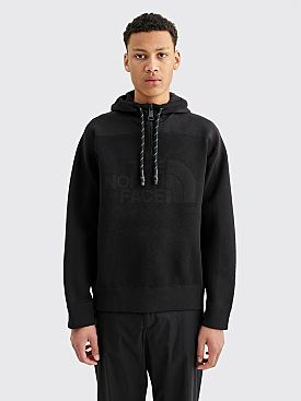 The North Face Black Series Knit Hooded Sweater Black
