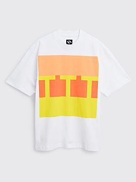 The Trilogy Tapes Block T-shirt White