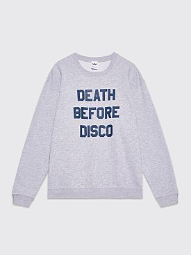 Tilt Death Before Disco Sweatshirt Grey