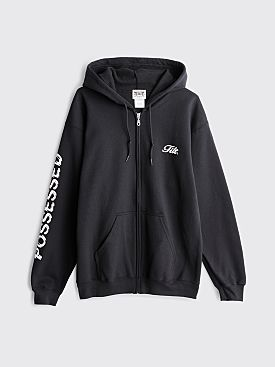 TILT Possessed Zip Hooded Sweatshirt Black
