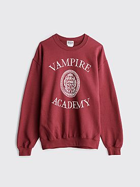 TILT Vampire Academy Sweatshirt Burgundy