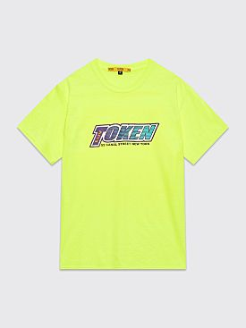Token Luv Logo T-shirt Neon Yellow
