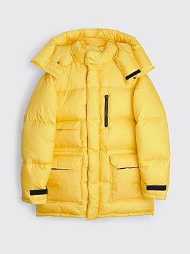 Toironier Bibandam Nylon Down Jacket Yellow