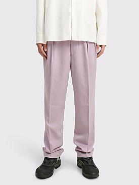 Toironier Pleat Trousers Lavender