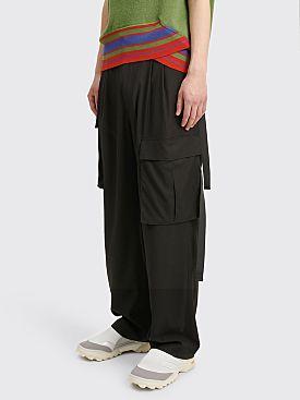 Toironier Cargo Pants Black