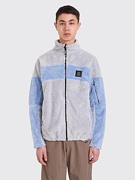 Très Bien x Haglöfs Epic Teddy Fleece Jacket Faded Denim Blue