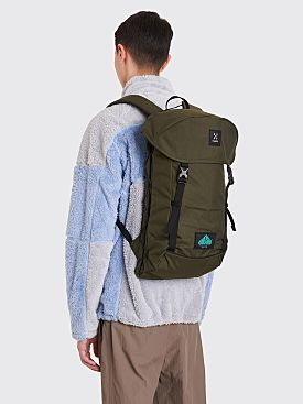 Très Bien x Haglöfs ShoSho Nylon Backpack Deep Woods Green