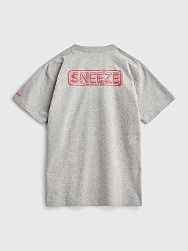 Très Bien / Sneeze LP T-shirt Grey