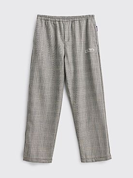 Très Bien / Sneeze Checked Wool Pants Grey