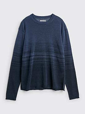 TRES BIEN ATELJÉ Knit Top Blue Gradient