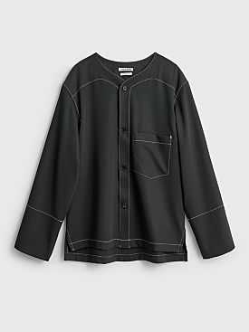 TRES BIEN ATELJÉ Baseball Suit Shirt Black