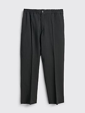 TRES BIEN ATELJÉ Sport Trouser Tonal Stripe Black