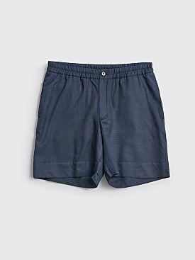 TRES BIEN ATELJÉ Sport Shorts Navy