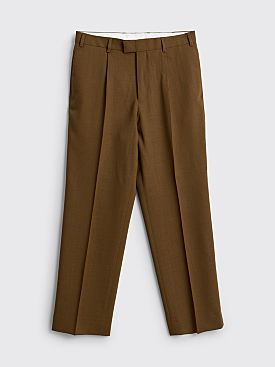 TRES BIEN ATELJÉ Straight Suit Pant Golden Brown