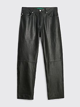 TRÈS BIEN everywear Five Pocket Pant Leather Black