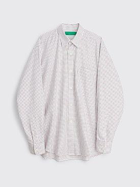TRÈS BIEN everywear Oversize Classic Shirt Window Pane