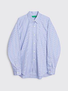 TRÈS BIEN everywear Oversize Classic Shirt Blue Plaid