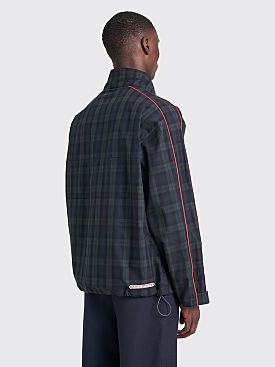 Très Bien Pop Over Jacket  Tartan Black / Green