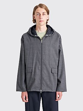 Très Bien Departure Jacket Wool Grey Check