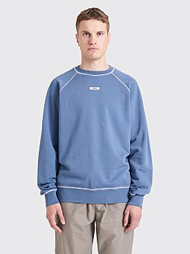 Très Bien Escape Necklabel Sweatshirt Bering Sea