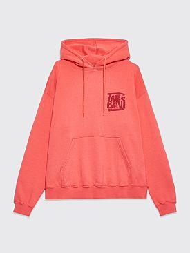 Très Bien Souvenir Hood Hands Logo Coral