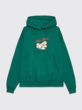 Très Bien Souvenir Hood Cannoli Green