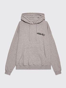 Très Bien Souvenir Hood Year Of Très Bien Grey Melange