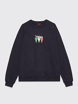 Très Bien Souvenir Sweatshirt Il Trebbio Navy
