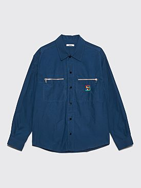 Très Bien Jungle Shirt Nylon Ripstop Teal