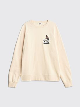Très Bien x Public Release Crewneck Sweatshirt Oatmeal