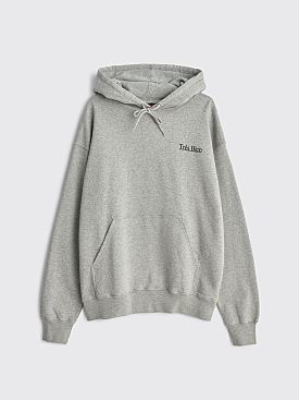 Très Bien Hooded Sweatshirt Good Times Heather Grey